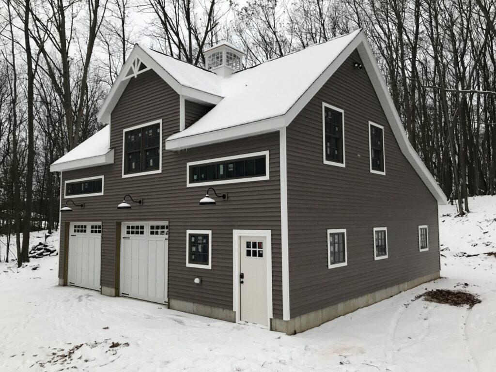 Broken-Back-Saltbox-36×36-in-MI-414A-Garage-Workshop-Guest-House