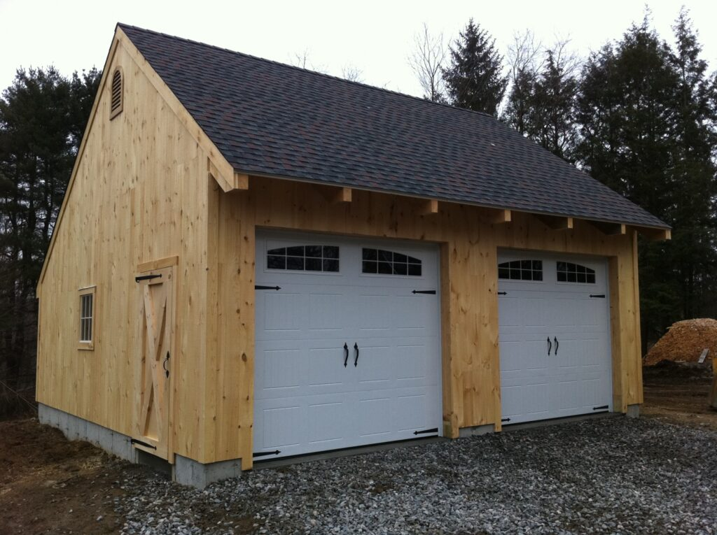 Carriage-House-Saltbox-24×24-in-CT-501A-Garage