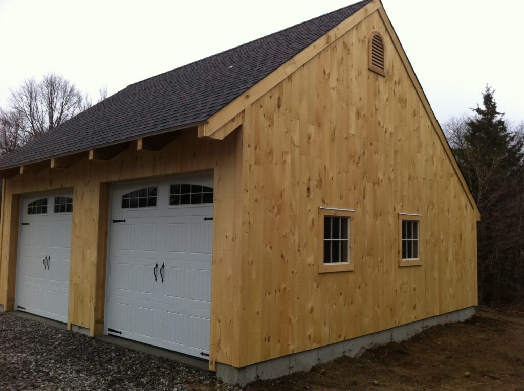 Carriage-House-Saltbox-24×24-in-CT-501B-Garage