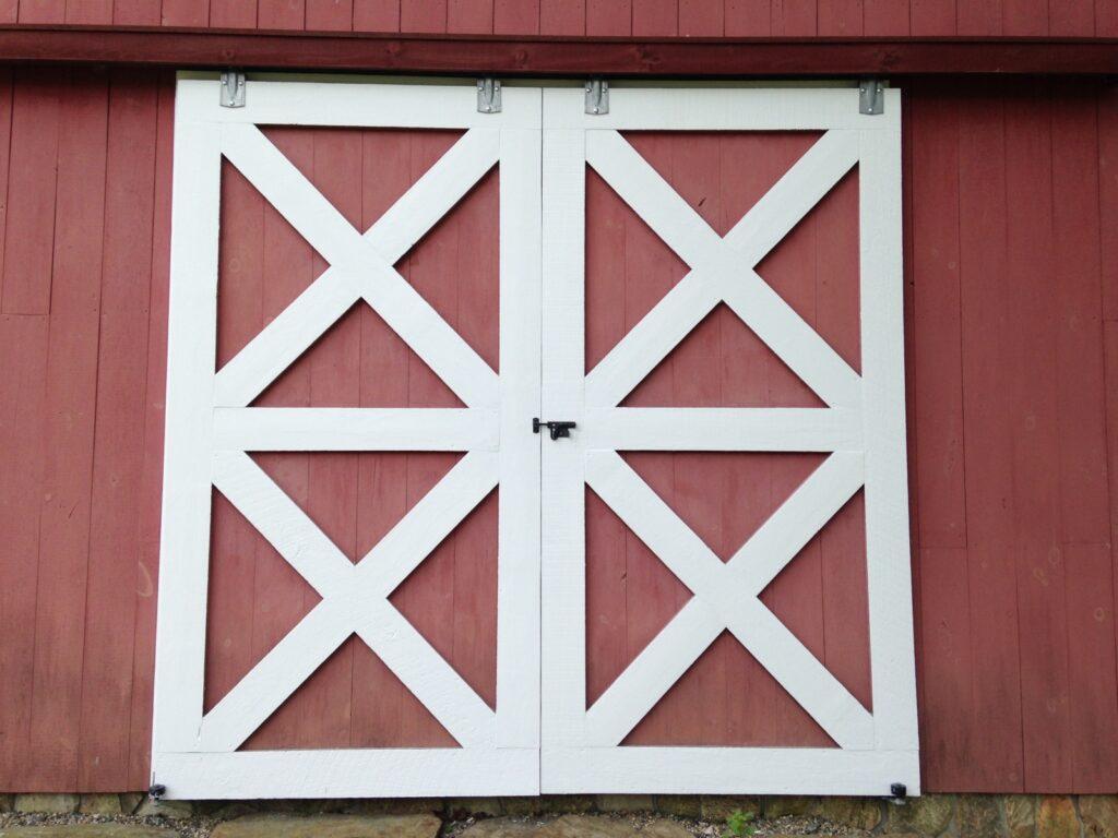 Doors-Crossbuck-Double-Sliders