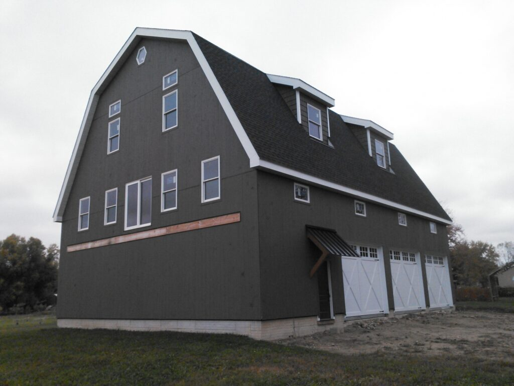 Gambrel-40×56-Barn-in-MI-206A-Garage-Home
