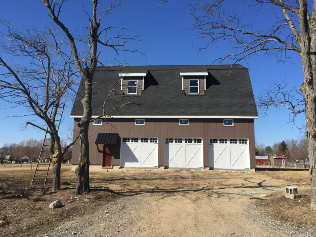 Gambrel-40×56-Barn-in-MI-206B-Home-Garage