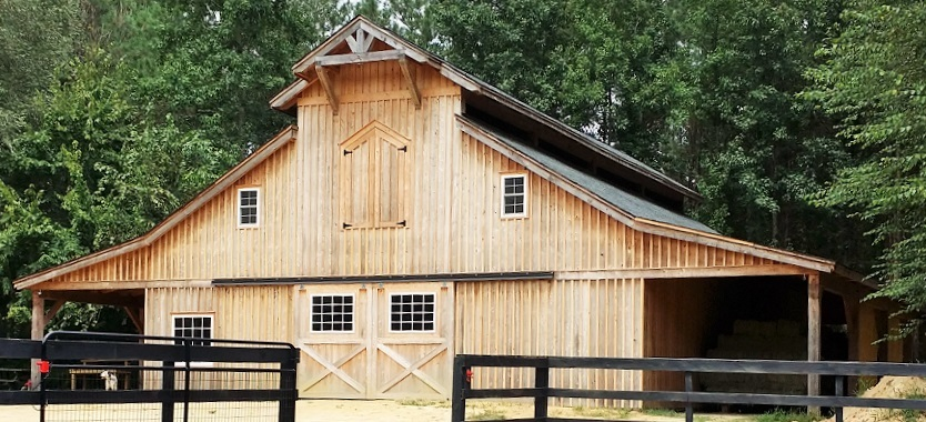 Monitor-42×56-in-NC-302A-Horse-Barn-Lean-To