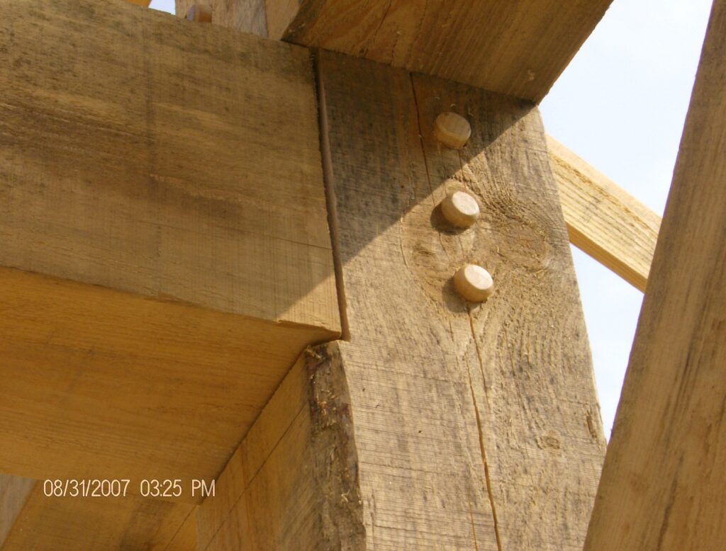 Mortise-and-Tenon-Connection