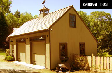 Carriage House - Timber Frame Barn Kits