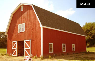 Gambrel - Barn Kits