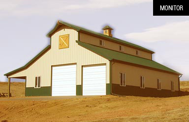 Monitor - Timber Frame Barn Kits