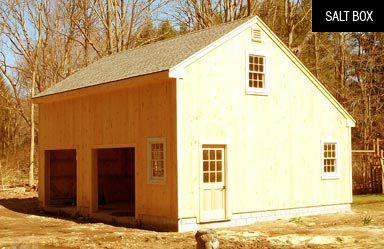 Salt Box - Barn Kits